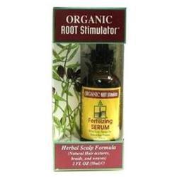Organic Root Stimulator Fertilizing Serum Herbal Scalp Formula 2 oz