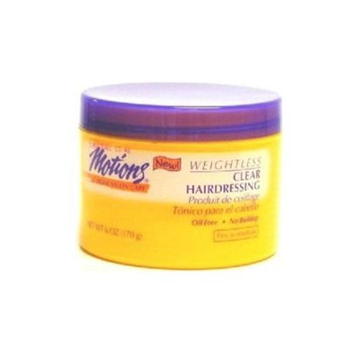 Motions Styling Aid Weightless Clear Hairdressing 6oz