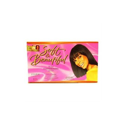 Soft & Beautiful Ultimate Protection No-Lye Creme Relaxer System Super