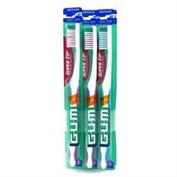 Butler G-u-m Oral Care Gum, Gum Toothbrush Tip Super Medium Full Head, 1 each (Pack of 1)