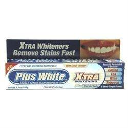 Plus White Whitening Toothpaste, Cool MInt, 3.5 oz