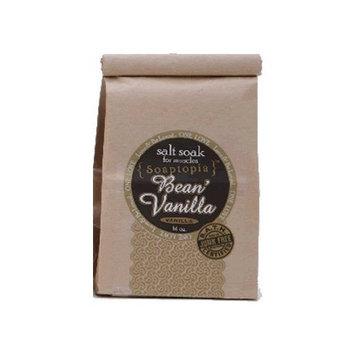 Soaptopia Vanilla Bean' - Vanilla Salt Soak 16 Oz