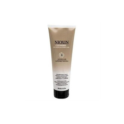 Nioxin Cleanser for Medium/Coarse Hair System 6, Natural Hair Noticeably Thinning