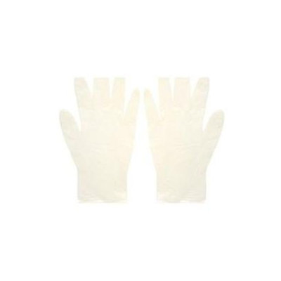 The Safety Zone Lightly Powdered Disposable Latex Gloves Large 1 Pair
