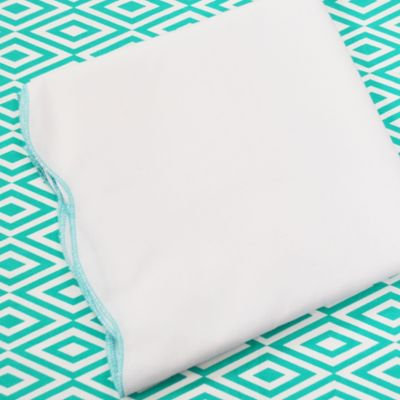 Oliver B 2-Piece Crib Bedding Set- Turquoise