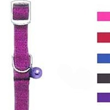 Four Paws Pet Products Cat Safe Collar with Bell - Blue