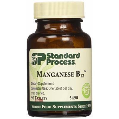 Standard Process Manganese B12 90 tablets