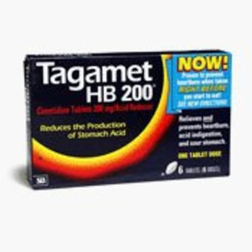 Tagamet Tablets 200 Mg relief of Heartburn - 6 Ea