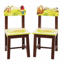 Guidecraft Jungle Party Extra Chairs (Set of 2), Multi, 1 ea