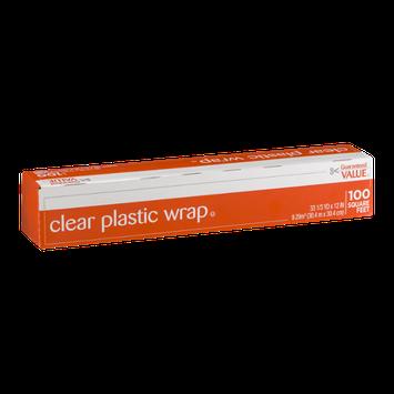 Guaranteed Value Clear Plastic Wrap