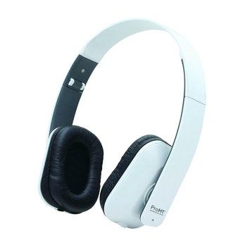 Inland Products Inc Inland Hi-Fi Stereo Headset W/Mic White