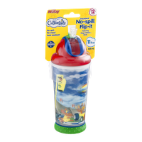 Cottontails Nuby No-spill Flip-it Cups 12+ Mos.