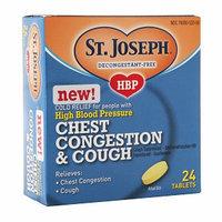 St. Joseph High Blood Pressure Chest Congestion & Cough Tablets