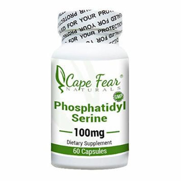 Cape Fear Naturals - Phosphatidyl Serine - 60 Capsules, 100mg each (2 Month Supply)