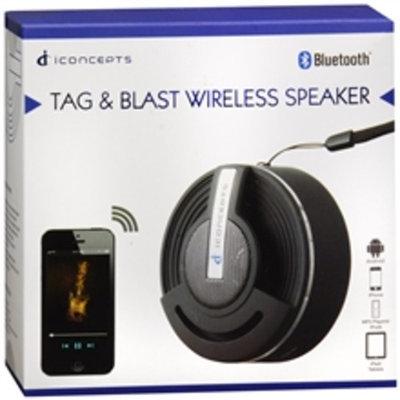 Sakar Tag & Blast Wireless Speaker Black