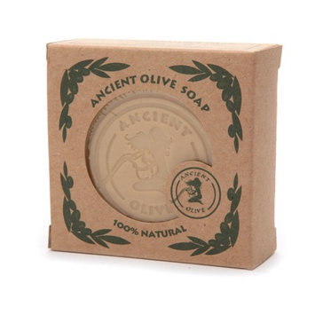 Ancient Olive Natural Olive Oil & Laurel Oil Bar Soap with Loofah Scrub