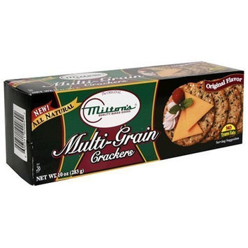 Milton's All Natural Multi-Grain Crackers, 4 10oz trays per box