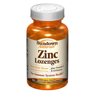 Sundown Naturals Zinc Lozenges