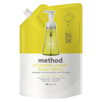 method foaming hand wash refill lemon mint