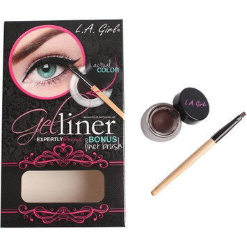 LA GIRL Gel Liner Kit - Dark Brown