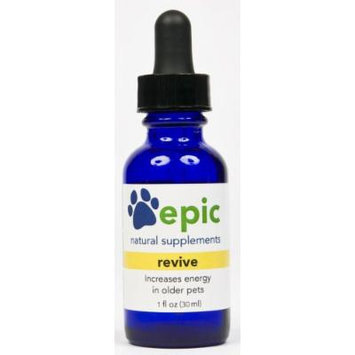 Revive -Natural, Electrolyte, Odorless Pet Supplement That Increases Energy in Older or Sick Pets (Dropper, 1 ounce)