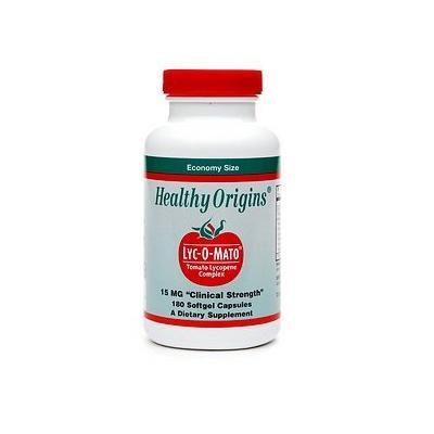 Healthy Origins Lyc-O-Mato, 15mg, Softgel Capsules 180 ea