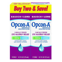 Opcon-A Eye Allergy Relief 2 x 15ml