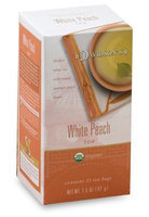 Davidson's Tea Davidson Organic Tea 2548 White Peach Tea Box of 25 Tea Bags