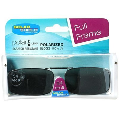 Solar Shield Fits Over Metal Clip-On Sunglasses 54 Rec8