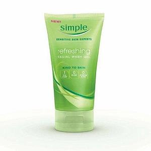 Simple Refreshing Facial Wash Gel
