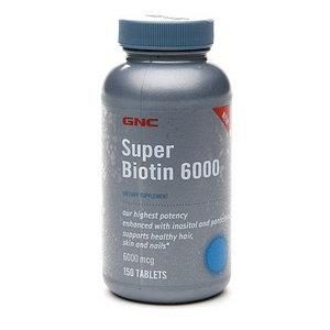GNC Super Biotin 6000