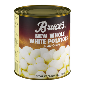 Bruce's New Whole White Potatoes - 60/80 CT