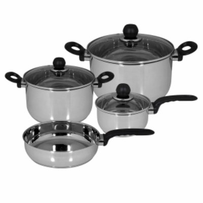 Magefesa Practika Stainless Steel Cookware set, 11 Piece, 1 ea