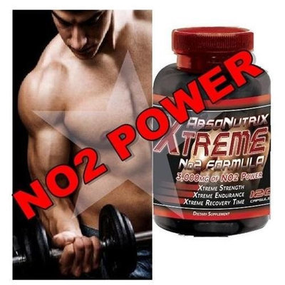 Absonutrix Xtreme No2 Power Formula L-Arginine Nitric Oxide 120 Tablets