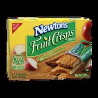 Nabisco Newtons Apple Cinnamon Fruit Crisps Snacks - 8 PK