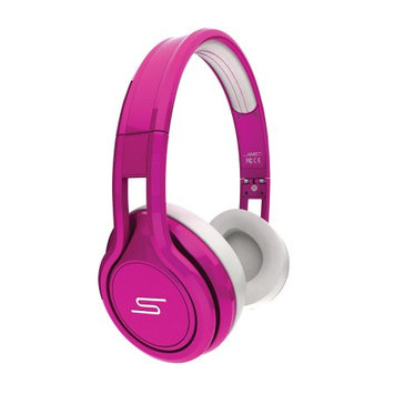 SMS Audio Street by 50 Cent Wired On-Ear Pink - Open Box Headphones