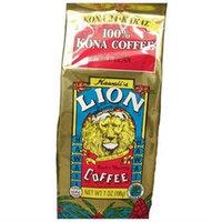 LION 100% Kona 24-Karat Light Medium Roast Whole Bean