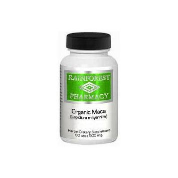 Rainforest Pharmacy Maca Energy Support (60 caps / 500mg)