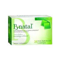 B-natal Morning Sickness Lozenges, Green Apple 28 ea