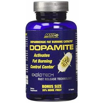 MHP Dopamite Dopaminergic Fat Burning Catalyst, 72 Count