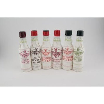Fee Brothers Bar Cocktail Bitters - Series II- Set of 6