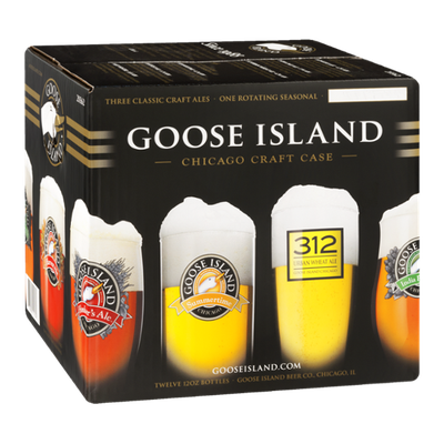 Goose Island Chicago Craft Case - 12 PK
