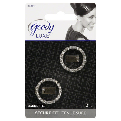 Goody Products Inc. Luxe Circle Side Comb, 2 CT