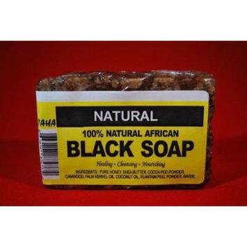 African Black Soap Bar 5oz Natural