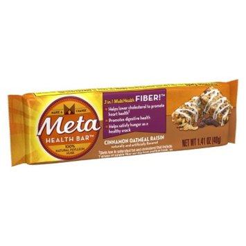 Metamucil Meta Health Bar Cinnamon Oatmeal Raisin - 1 Count