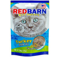 Red Barn Grain Free Cat Treats Turkey Flavor 2.64oz