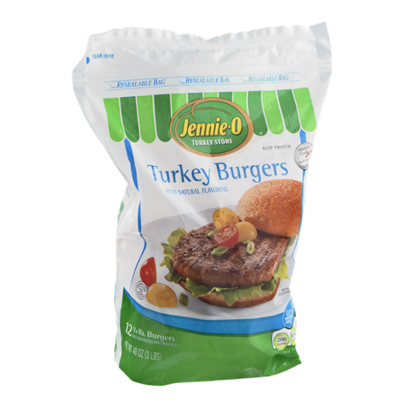 Jennie-O Turkey Burgers - 12 CT