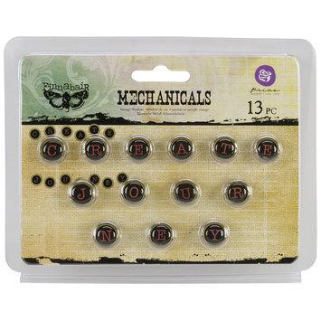 Prima Marketing, Inc. Mechanicals Metal Embellishments Words #2 Create & Journey