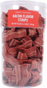 Triumph Wavy Bacon Strips Dog Treats - Bacon