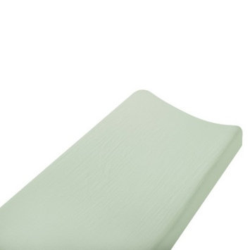 aden + anais Aden & Anais solid sage changing pad cover